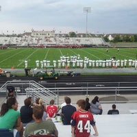Photo taken at Plainfield North High School by Bobby on 8/31/2013