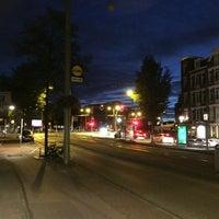 Photo taken at Tramhalte Overtoomsesluis by Eiji S. on 8/14/2016