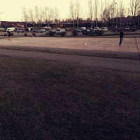 Photo taken at Rīgas 84. Vidusskolas basketbola laukums by Megija G. on 3/19/2015