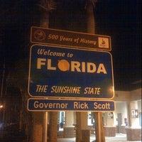 Photo taken at Florida / Georgia State Line by Kat J. on 1/12/2013