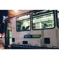 Photo taken at Tram Stop 112 - Elgin/Lygon St by Aeqmal H. on 8/15/2014