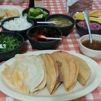 """Photo taken at Tacos de Barbacoa """"Ericka"""" by Julio C. on 11/3/2012"""