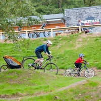 Photo taken at BikeParkWales by Philip W. on 1/9/2016