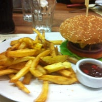 Photo taken at Queen Burger by Marios T. on 10/23/2012