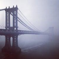 Photo taken at Manhattan Bridge by John-David B. on 5/23/2013