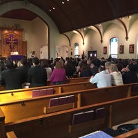 Photo taken at St. Paul's Church by Andrew G. on 3/12/2016