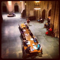 Photo taken at Cathedral of Learning by Olga M. on 1/22/2013