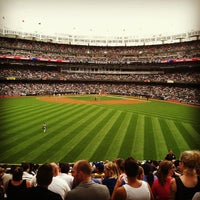 Photo taken at Yankee Stadium by Caitlin K. on 7/8/2013