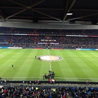 Photo taken at Stadion Feijenoord by Jan v. on 12/21/2013