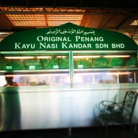 Photo taken at Original Penang Kayu Nasi Kandar by Ridzuan A. on 5/25/2013