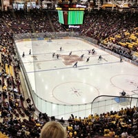 Photo taken at Mariucci Arena by Kevin D. on 10/12/2012