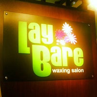 Photo taken at Lay Bare Waxing Salon by Phyluz A. on 11/20/2012