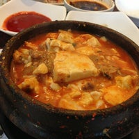 Photo taken at BCD Tofu House by JoJo P. on 6/3/2013