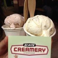 Photo taken at Bi-Rite Creamery by JoJo P. on 10/7/2012