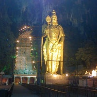 Photo taken at Batu Caves by Jimmy B. on 1/21/2013