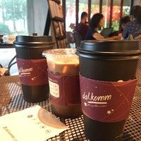 Photo taken at dal.komm COFFEE by Nursyafiqah on 11/18/2017