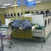 Photo taken at Super Clean Laundromant by Scruff L. on 1/2/2017
