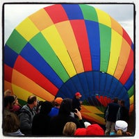 Photo taken at Steamboat Springs Hot Air Balloon Rodeo by John J. on 7/13/2013