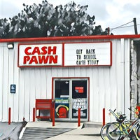 Photo taken at Cash Pawn by David B. on 8/28/2017