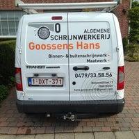 Photo taken at Algemene Schrijnwerkerij Goossens Hans by Hans G. on 10/29/2013