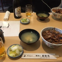 Photo taken at 豚丼 まむろ by イオン on 4/16/2017