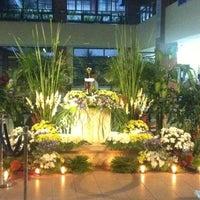Photo taken at Ateneo Law Chapel by Jai G. on 4/17/2014