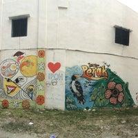 Photo taken at Ipoh Mural Art's Lane by Muhaimin H. on 1/1/2016