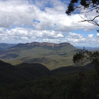 Photo taken at Queen Victoria Lookout by Arthur T. on 3/12/2013