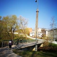Photo taken at Spodrības tiltiņš by Linda M. on 4/21/2018