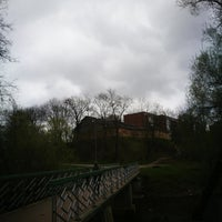 Photo taken at Spodrības tiltiņš by Linda M. on 4/26/2018