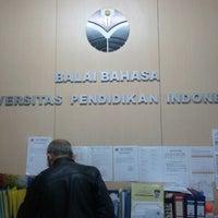Photo taken at Balai Bahasa UPI by Andrian P. on 2/18/2013