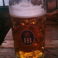 Photo taken at Pilsener Haus & Biergarten by Keri E. on 7/20/2013