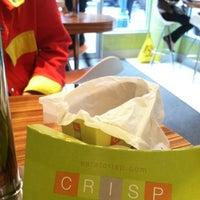 Photo taken at Crisp by Steve D. on 10/2/2012