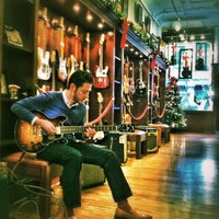 Photo taken at Rudy's Music Soho by Steve D. on 12/2/2012