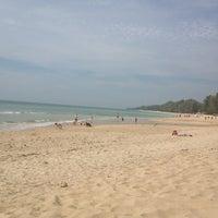 Photo taken at Phra-Ae Beach by Ksenya B. on 1/7/2013