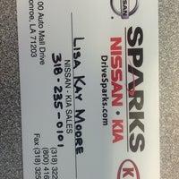 Photo Taken At Sparks Nissan Kia By Lisa Kay M On 8 22