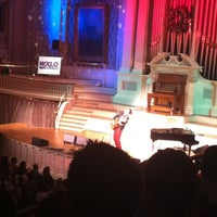 Photo taken at Mechanics Hall by Brandon Y. on 12/11/2012