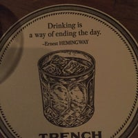 Photo prise au Bar Trench par Eric D. le8/24/2017