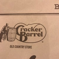 Photo taken at Cracker Barrel Old Country Store by Steve S. on 10/29/2017
