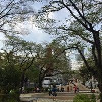 Photo taken at 両国公園 by nissy T. on 4/16/2016