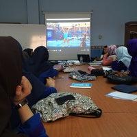 Photo taken at Fakulti Pengurusan Dan Muamalah, KUIS by Fatin N. on 7/21/2016