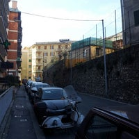 Photo taken at Via Arrivabene by Fabrizio M. on 12/16/2013