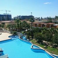Photo taken at Atlantica Aeneas Resort Hotel pool by Uwe W. on 2/17/2017