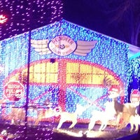 Photo taken at Santa's Wonderland by Carla C. on 12/30/2012