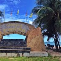 Photo taken at Nam Rin Beach by Nattarika S. on 7/31/2016