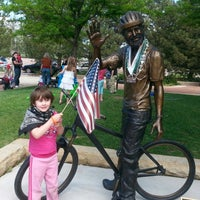 Photo taken at John Breaux Statue by Mary H. on 6/15/2013