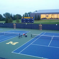 Photo taken at University of Michigan Varsity Tennis Center by John S. on 6/25/2013