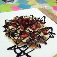 Photo taken at Waffle Lila House by sıla t. on 8/9/2016