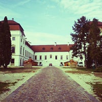 Photo taken at Pápai Esterházy Kastély by Kinga N. on 11/8/2014