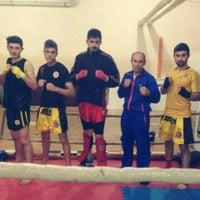 Photo taken at Gold Spor Salonu by Yusuf S. on 11/19/2015